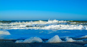 Sturm auf dem Meer Lizenzfreie Stockfotografie