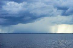 Sturm auf dem Meer Lizenzfreie Stockfotos