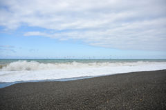 Sturm auf Meer Lizenzfreie Stockfotografie