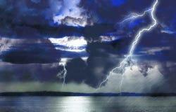 Sturm auf See Stockbilder