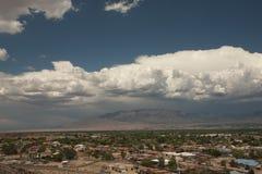 Sturm, der über Albuquerque braut Lizenzfreie Stockbilder