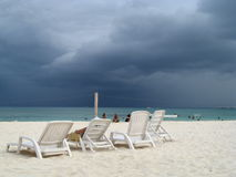Sturm, der hereinkommt Lizenzfreies Stockbild