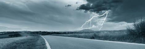 Sturm in der Landschaft Lizenzfreie Stockfotos