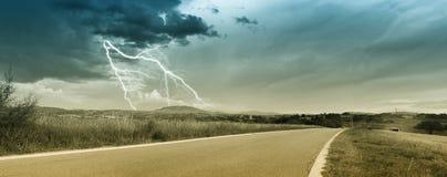 Sturm in der Landschaft Lizenzfreie Stockfotografie