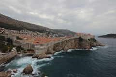 Sturm Dubrovnik, Kroatien dalmatia stockfotos