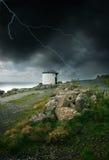 Sturm durch den Ozean Stockfotos