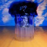 Sturm in einem Glas Lizenzfreies Stockbild