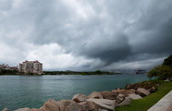Sturm in Florida Lizenzfreie Stockbilder