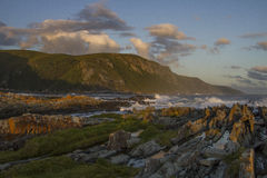 Sturm-Flussmündung - Tsitsikama Südafrika Lizenzfreies Stockfoto