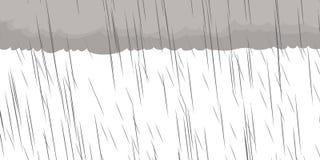 Sturm-Hintergrund-Illustration Stockbilder