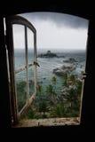 Sturm im Paradies Stockbilder