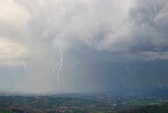Sturm im Tal Lizenzfreie Stockfotografie