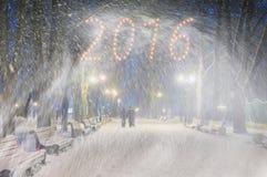 Sturm in Mariinsky-Park Stockfotografie