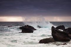 Sturm in Meer Stockbilder