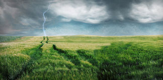 Sturm. Lizenzfreie Stockfotografie
