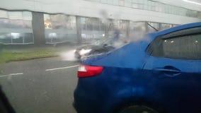 Sturm in Moskau lizenzfreie stockfotografie