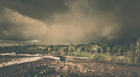 Sturm nahe Owen Sound, Ontario Lizenzfreie Stockbilder