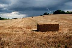 Sturm onth Hügel Lizenzfreie Stockfotografie
