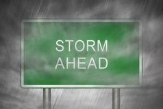 Sturm voran Lizenzfreie Stockbilder
