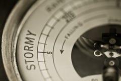 Sturm-WARNING Stockbilder