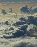 Sturm-Wolken Stockfotografie