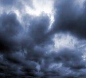 Sturm-Wolken Stockbild