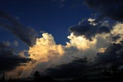 Sturm-Wolken Lizenzfreies Stockfoto