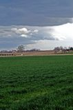 Sturm-Wolken-Steigen Stockfoto