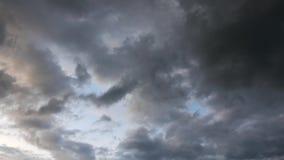 Sturm-Wolken-Zeitspanne 04 stock footage