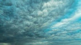 Sturmkumuluswolken, Zeitversehen stock video