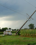 Sturmschaden zwei Lizenzfreie Stockfotografie