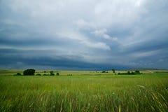 Sturmwolken Stockfoto