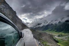 Sturmwolken, ladakh, Jammu und Kashmir, Indien Stockfotografie