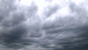 Sturmwolken-Zeitspanne - Video auf Lager stock video footage