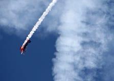 Sturzflug stockfotografie