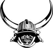 Sturzhelm der Samurais lizenzfreie stockbilder