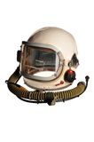 Sturzhelm des Kosmonauten lizenzfreie stockfotos
