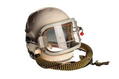 Sturzhelm des Kosmonauten Lizenzfreies Stockbild