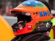 Sturzhelm-Fahrer Gutierrez Team KH7 Stockfotos