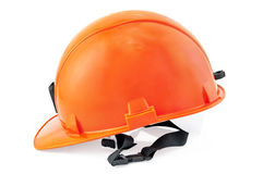 Sturzhelm-Orange Lizenzfreie Stockbilder