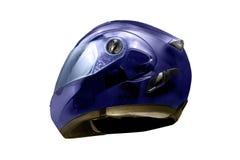 Sturzhelm verwendete Radfahrer, um den Kopf im sicheren Fahren zu schützen Lizenzfreies Stockfoto