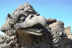Stutes en parc de Bali Photo stock