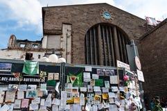 STUTTGART - 2010-09-18: Demonstratie tegen S21 Royalty-vrije Stock Afbeelding
