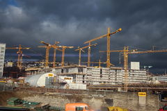 Stuttgart 21 - construction site Stock Images