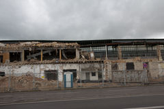 Stuttgart 21 Main Station Demolition Stock Image