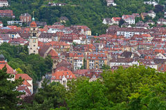 Stuttgart. The capital of the state of Baden-Wuerttemberg, is Germany's sixth-largest city Royalty Free Stock Photos