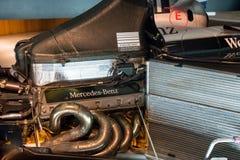 Stuttgart, Alemania - 3 de febrero de 2018, Mercedes Benz Muse Imágenes de archivo libres de regalías