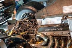 Stuttgart, Alemania - 3 de febrero de 2018, Mercedes Benz Muse Fotos de archivo libres de regalías