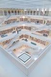 Stuttgart, Allemagne - 21 mai 2015 : La bibliothèque publique de Stuttgart, Photos stock