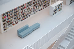 Stuttgart, Allemagne - 21 mai 2015 : La bibliothèque publique de Stuttgart, Photo stock
